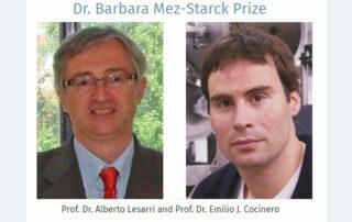 El expresidente del JIQ, Emilio J. Cocinero, premiado con el International Dr. Barbara Mez-Starck Prize
